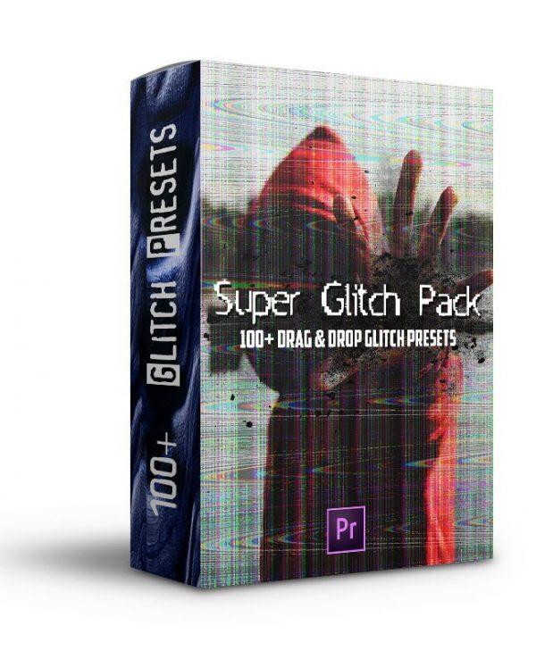 Super Glitch Pack - 100+ Drag & Drop Presets